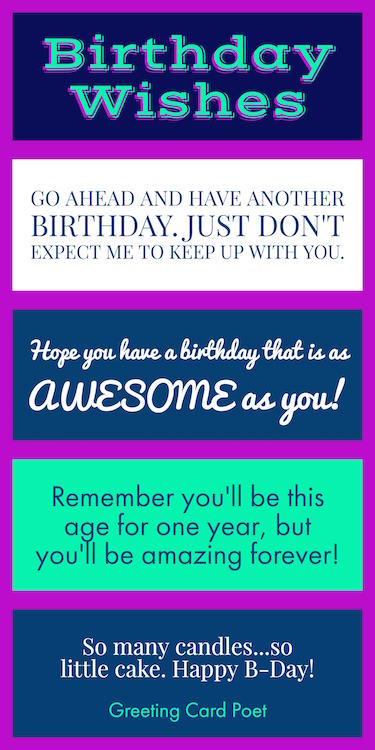 Birthday Wishes Quotes Messages Sayings Happy Cards