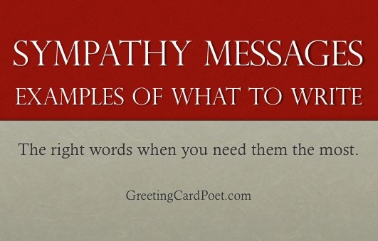 sympathy messages image