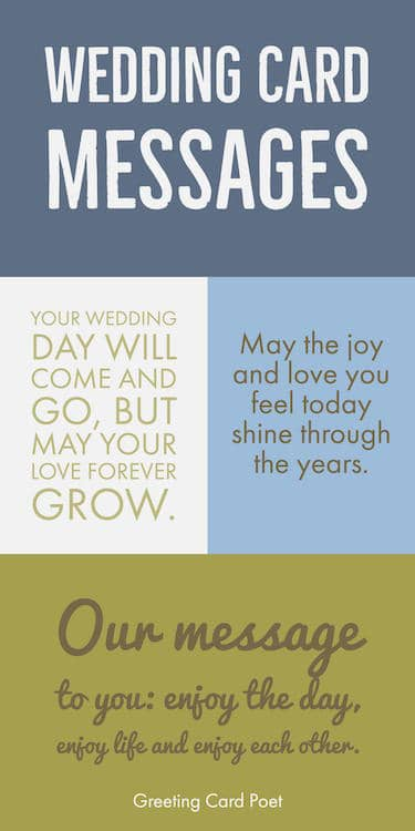Wedding Card Messages And Greetings Image