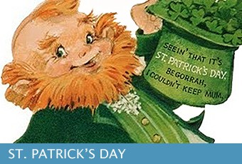 St. Patrick's Day Messages for Cards