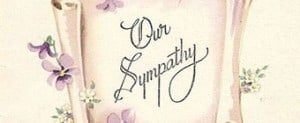 What to write on a Sympathy Card