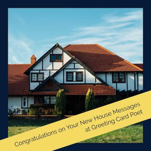 Congratulations New House image