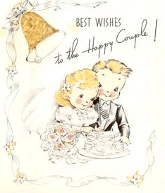 Wish You Happy Married Life Greeting Card
