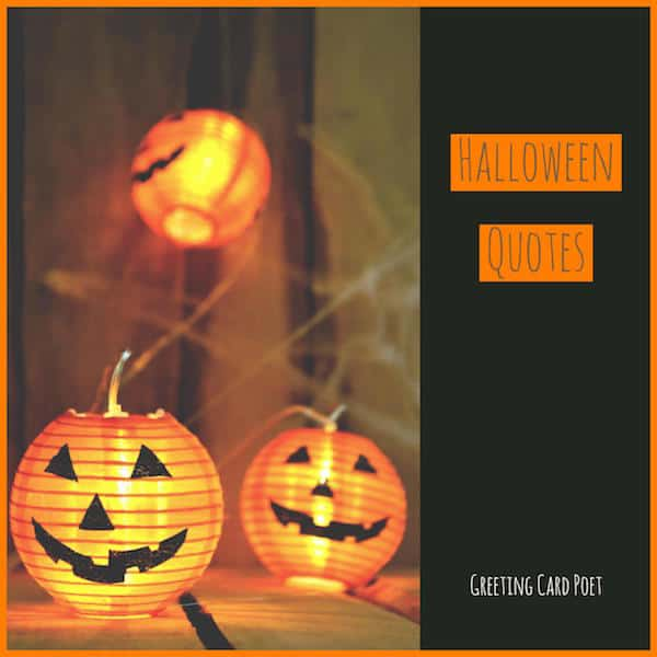 Halloween Quotations image