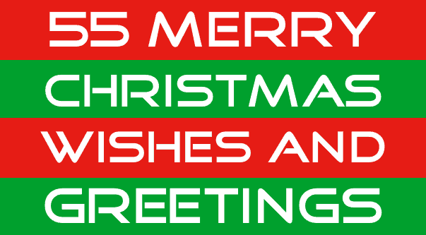merry christmas wishes and greetings image