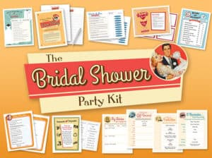 Bridal Shower Party Kit image