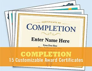 Certificates of Completion image