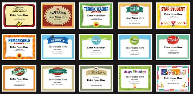 Student certificates templates teacher awards for classroom student certificates templates image happy birthday certificates yadclub Image collections