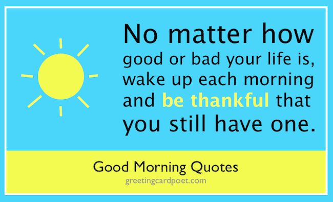 Good Morning Quotes Inspirational Quotations For Sundays Mondays