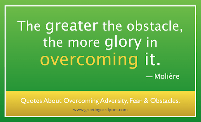 Overcoming fear image