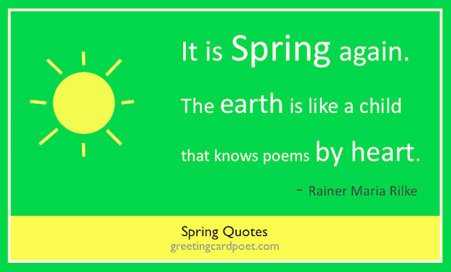 Spring Quotes For Reflection And Inspiration First Day Of