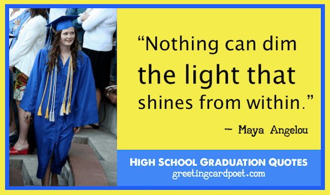 High School Graduation Quotes Funny And Inspirational Interesting Quotes About High School