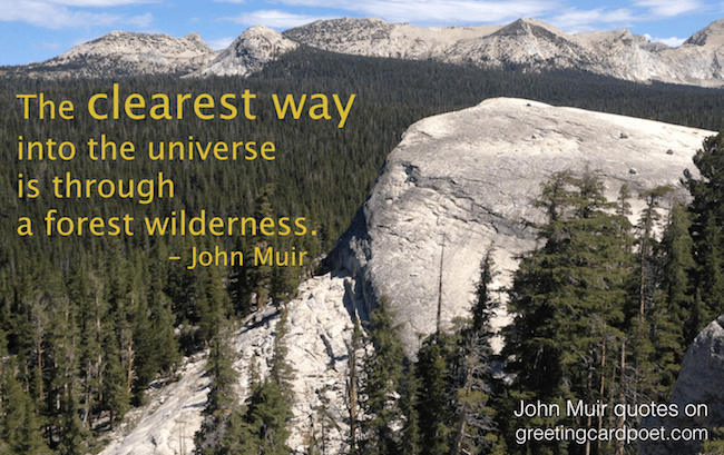 John Muir Quotes And Sayings On Nature And The Environment