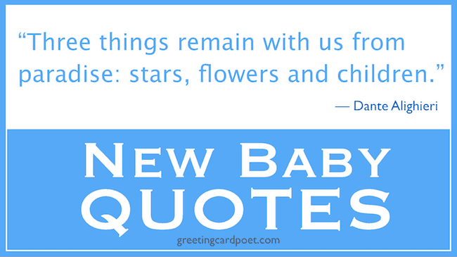 New Baby quotes and sayings image