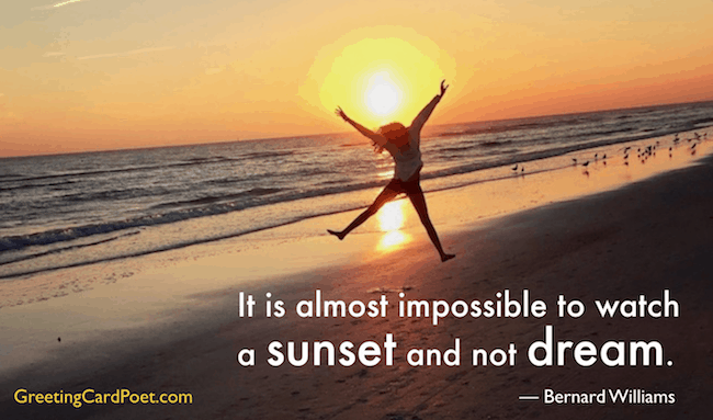 sunset quotes and sayings image