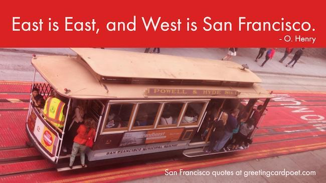 San Francisco quotes and sayings image
