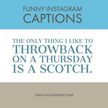 Funny captions for Instagram image