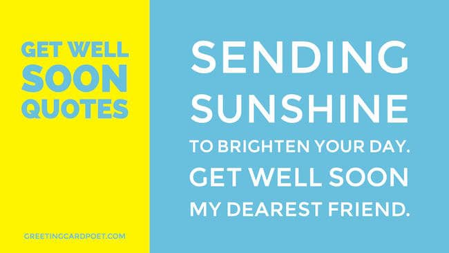 get well quotes messages and wishes greeting card poet