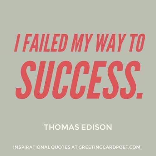 Inspirational Edison Quote image