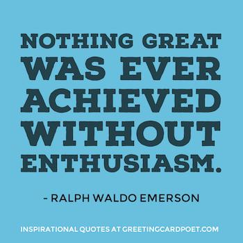 Inspiring Emerson quote image
