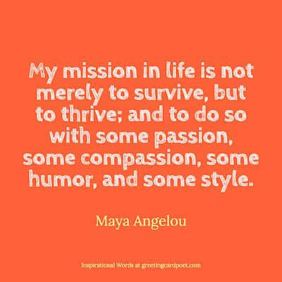 Maya Angelou quote image