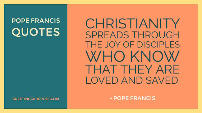 Pope Francis Quotes On Family And Life