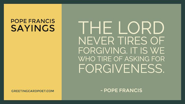 Pope Francis Sayings image