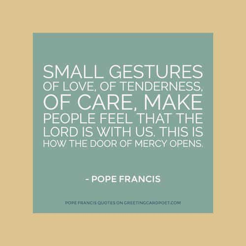 Pope Francis Sayings And Phrases Greeting Card Poet Impressive Pope Francis Quotes On Love