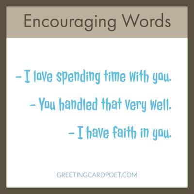 encouraging words list image