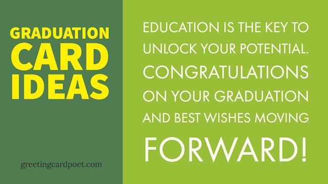 Graduation Card Ideas | Messages, Greetings and Wishes