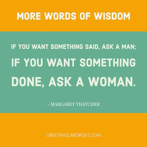 words of wisdom for women quote image