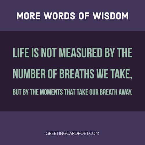 word of wisdom quote image