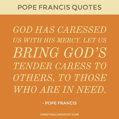 quotes by Pope Francis image