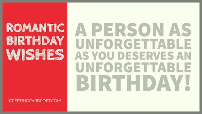romantic birthday wishes image