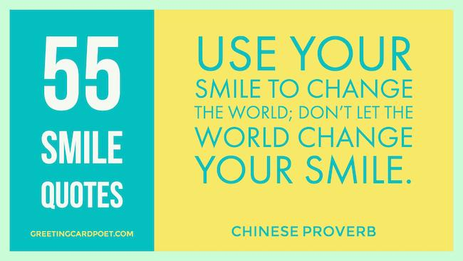 55 Smile Quotations image