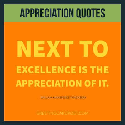 Next to excellence is the appreciation of it image