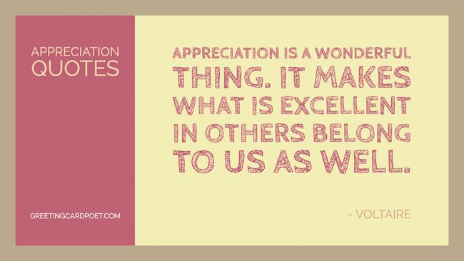 Appreciation Quotes Image