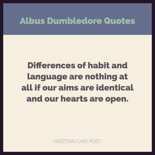 Best Dumbledore Quotes image