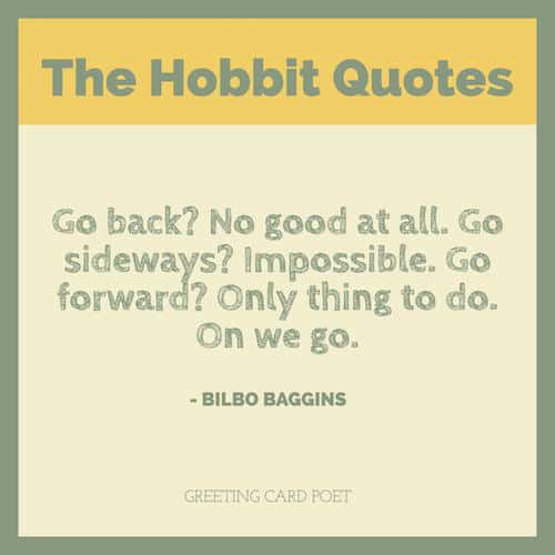 Amazing Bilbo Baggins Quotes Image