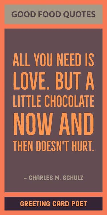Chocolate quote image