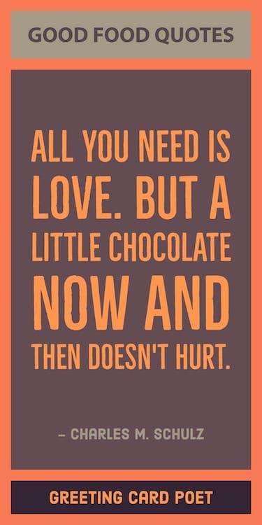 Chocolate quote image