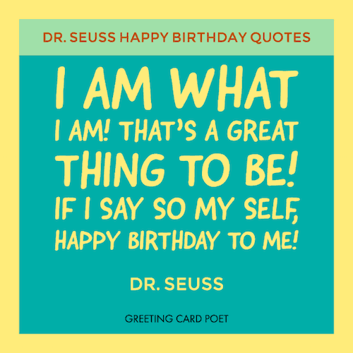 One Year Old Birthday Quotes: Dr Seuss Birthday Quotes And Funny Sayings
