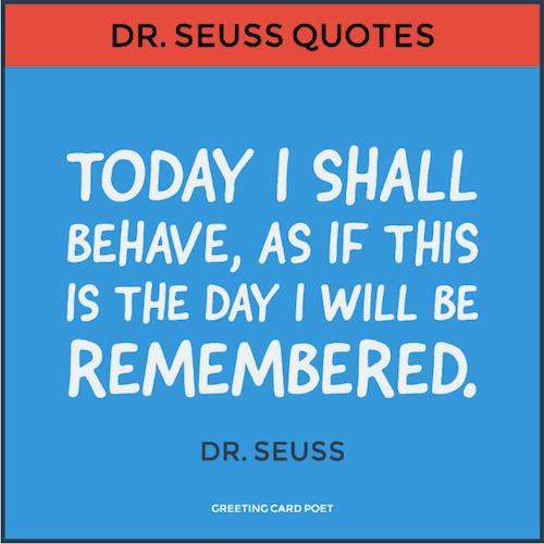 Dr. Seuss Quotation image