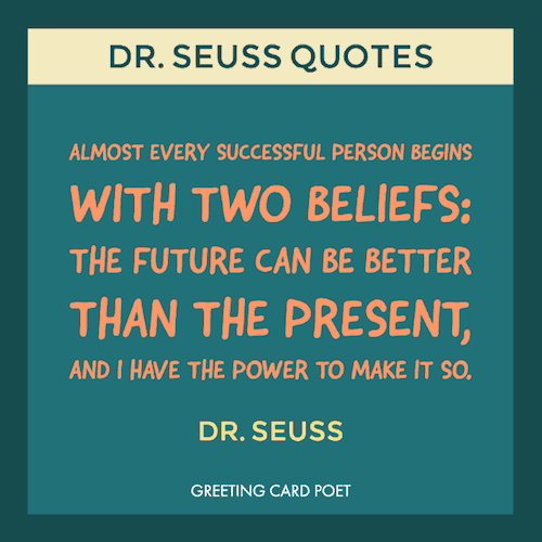 Dr. Seuss Success quote image