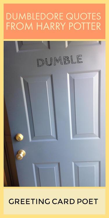 Dumbledore Pun image