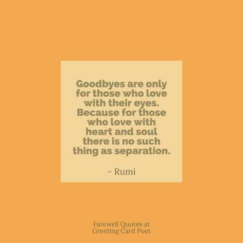 Goodbye And Farewell Quotes