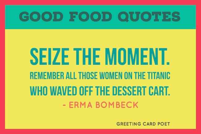 Good Food Quotes image