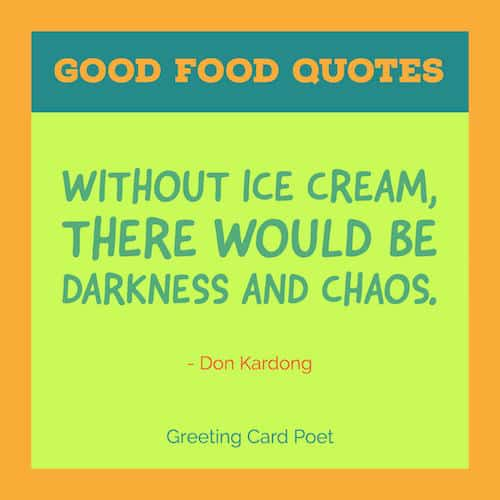 Ice cream quote image