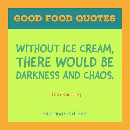 Ice cream quote image
