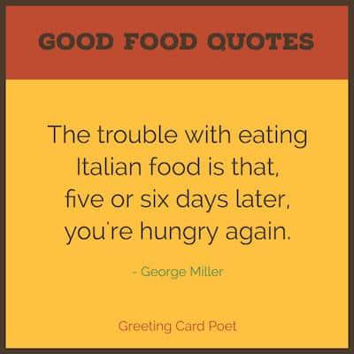 Italian food quote image